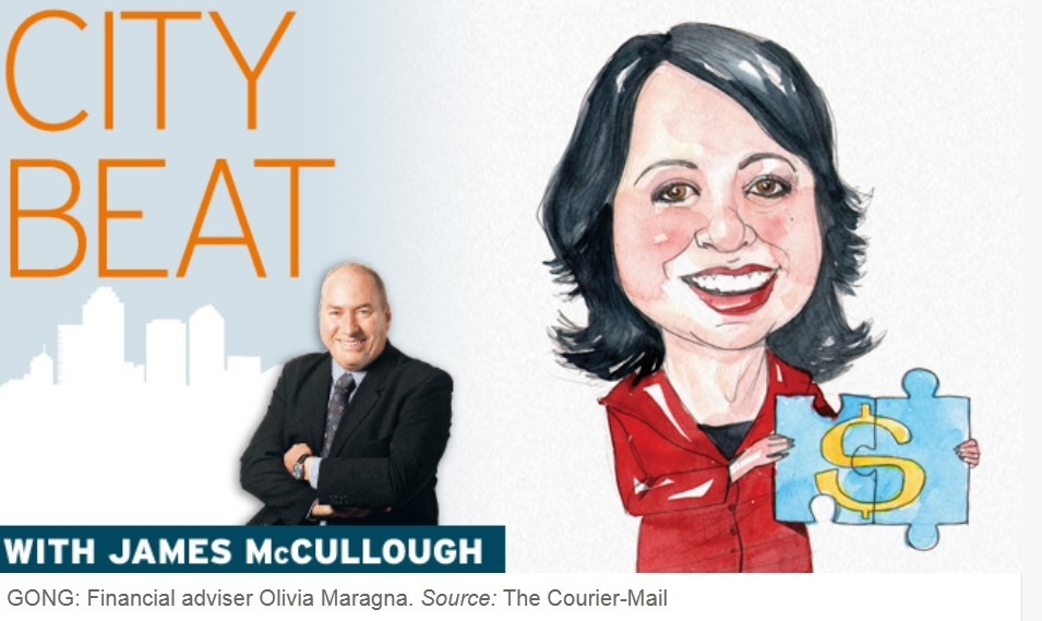 Winning the industry's highest gong, award winning Olivia Maragna was featured in the Courier Mail